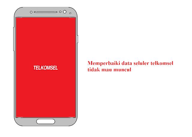 Cara Mengatasi Data Seluler Telkomsel Tidak Muncul