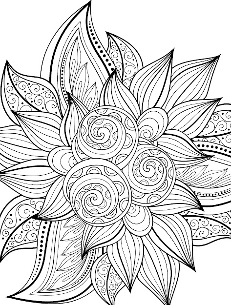 Free Printable Holiday Adult Coloring Pages In Printable Coloring Pages  Adults