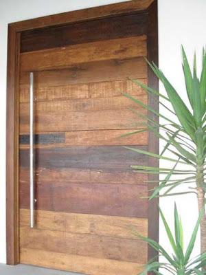 model pintu minimalis kayu palet murah
