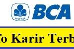 Karir Terbaru BCA