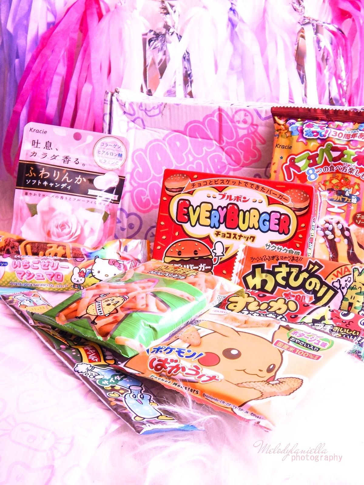 13 melodylaniella photography partybox japan candy box pudełko pełne słodkości z japonii azjatyckie słodycze ciekawe jedzenie z japonii cukierki z azji boxy z jedzeniem candy japan marschmallows