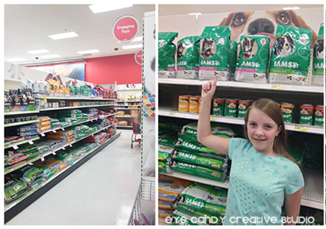 Target shopping, dog food, pet supplies at Target, Iams dog food, one stop shop