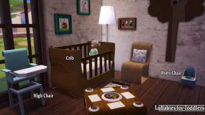 Sims 4 Cc Toddler Bed