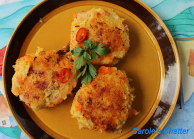 Ham Hash Cakes: Carole's Chatter