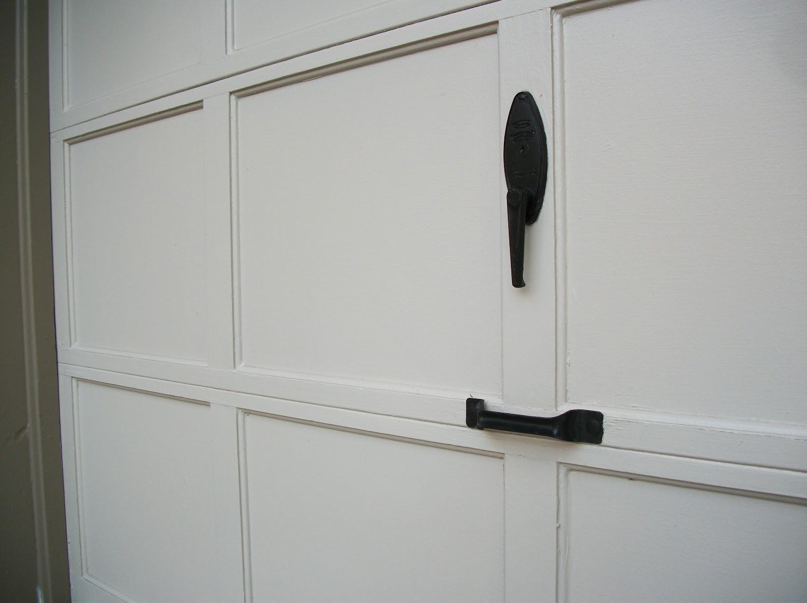 Black Garage Door Inviting Home Design