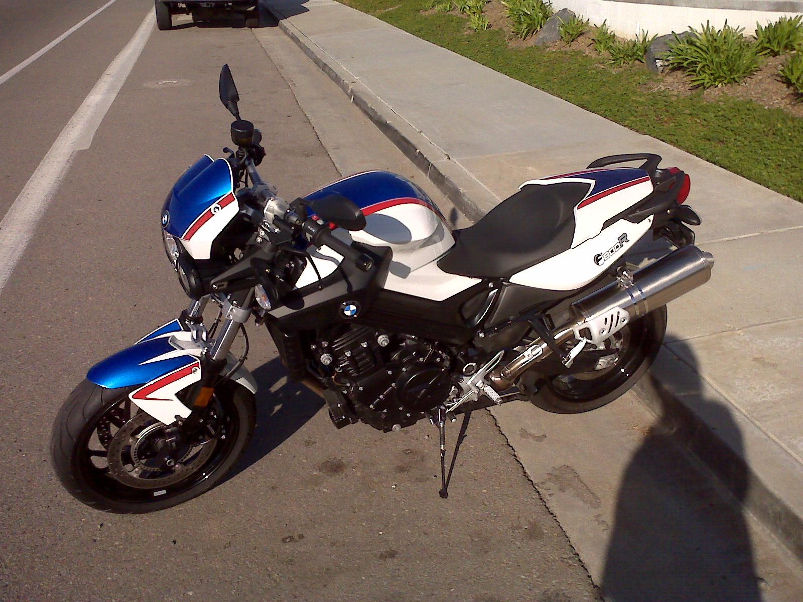 San Diego Bmw Motorcycles Alan S Customized F800r