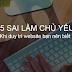05 sai lầm khi duy trì website kiếm tiền trực tuyến bạn nên biết