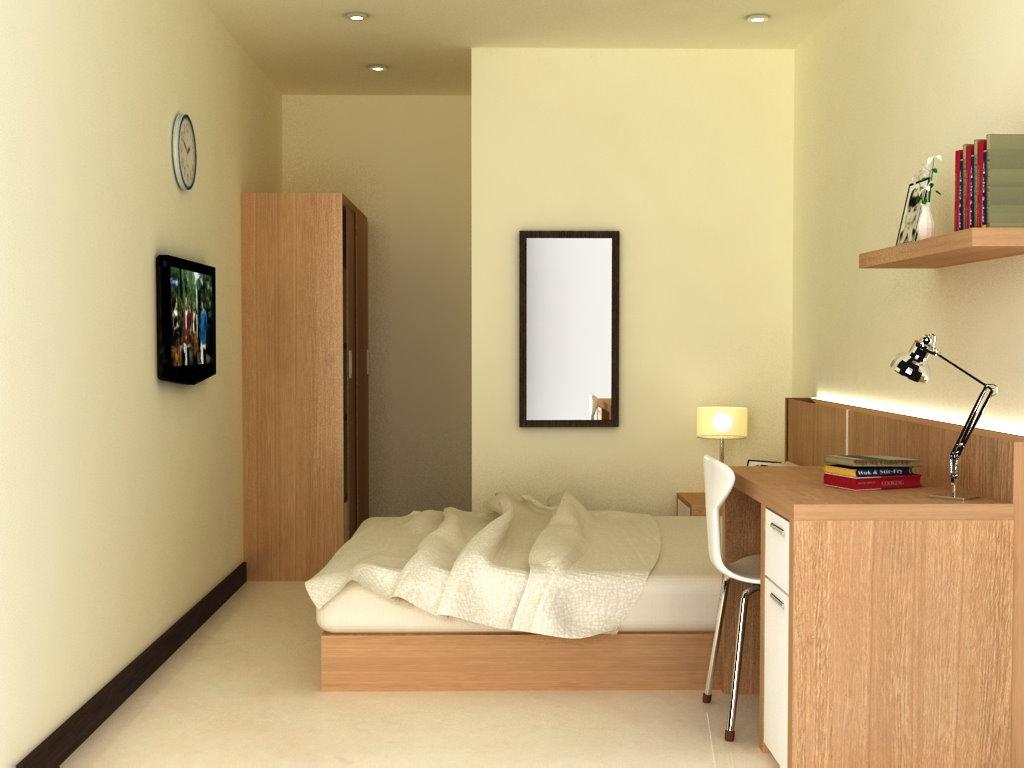 Desain kamar tidur beserta kamar mandi desain rumah for Dekor kamar hotel buat ulang tahun