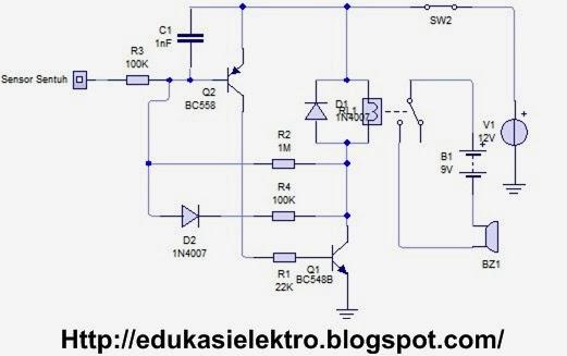 karakteristik relay 12 volt