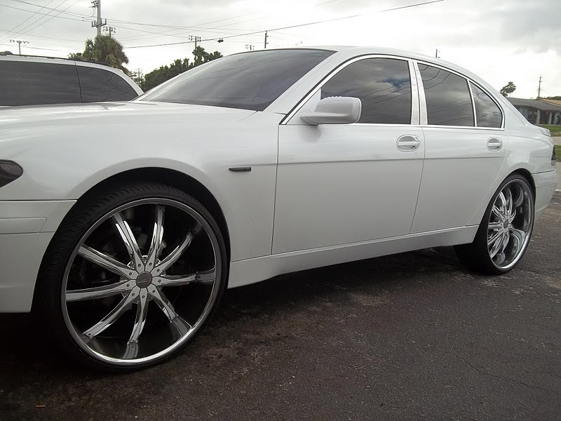 2 Door Charger >> PHOTOGRAPHY BY MIAMIEARL: BMW 7 SERIES ON 26 INCH RIMS