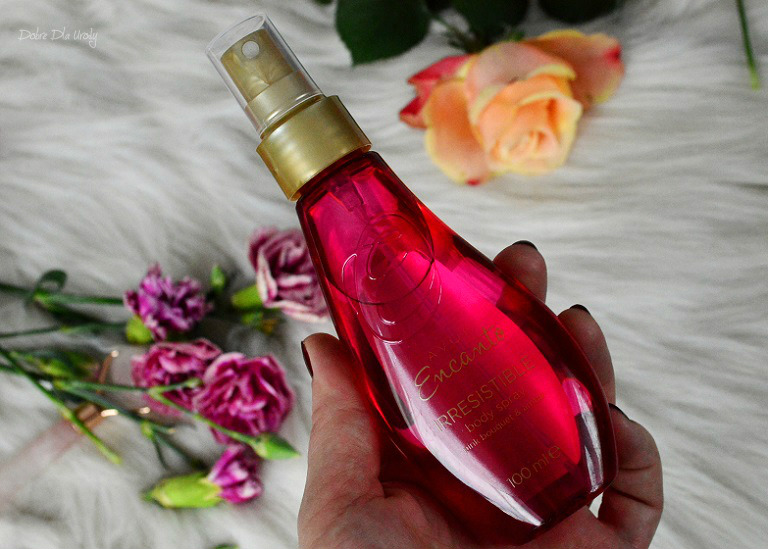 Avon  Encanto Irresistible - Pachnąca mgiełka do ciała  recenzja