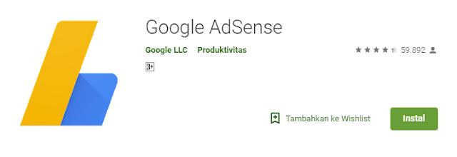 Cara Melihat Penghasilan AdSense Dengan Handphone