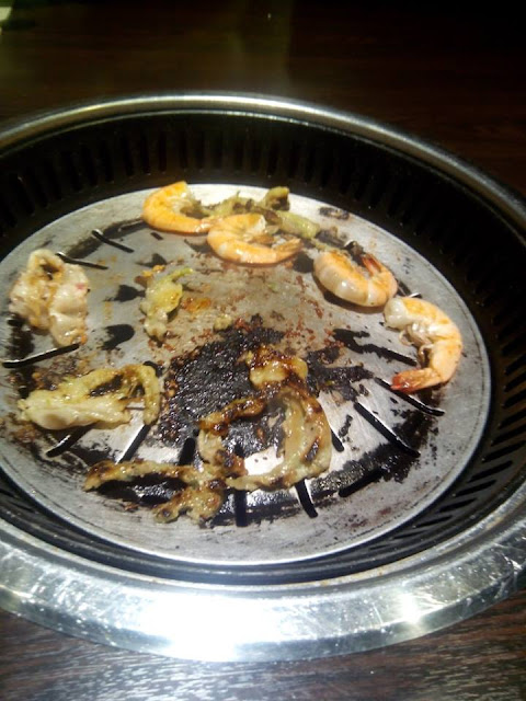 Grill plate at Tokyo Table