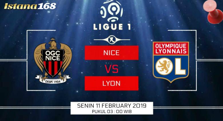 Prediksi Nice vs Lyon 11 February 2019