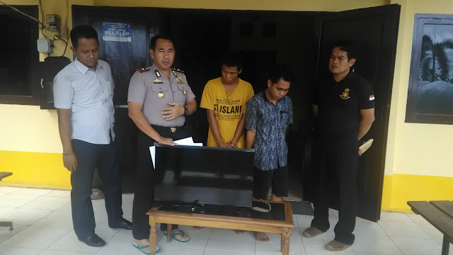 Tim Elang Gulung Dua Bandit Bobol Kantor Golkar