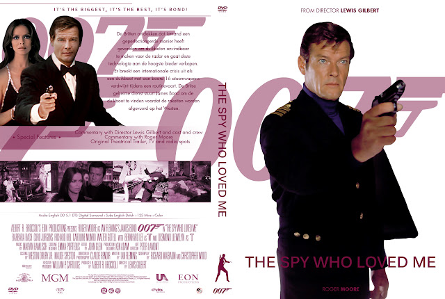 Capa DVD 007 The Spy Who Loved Me