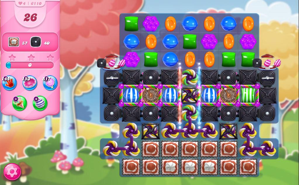 Candy Crush Saga level 6110