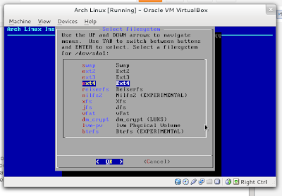 configure mountpoint AIF 2