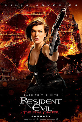 Resident Evil: The Final Chapter Milla Jovovich Poster