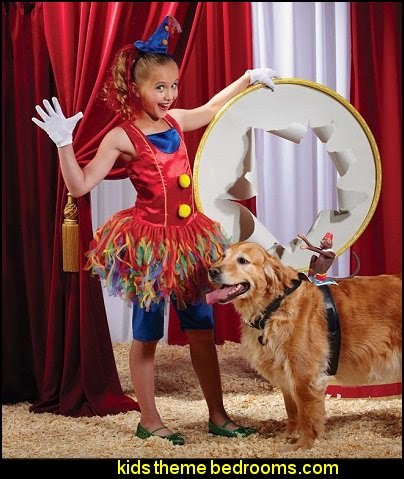 big top decorating ideas-circus birthday party decorating ideas
