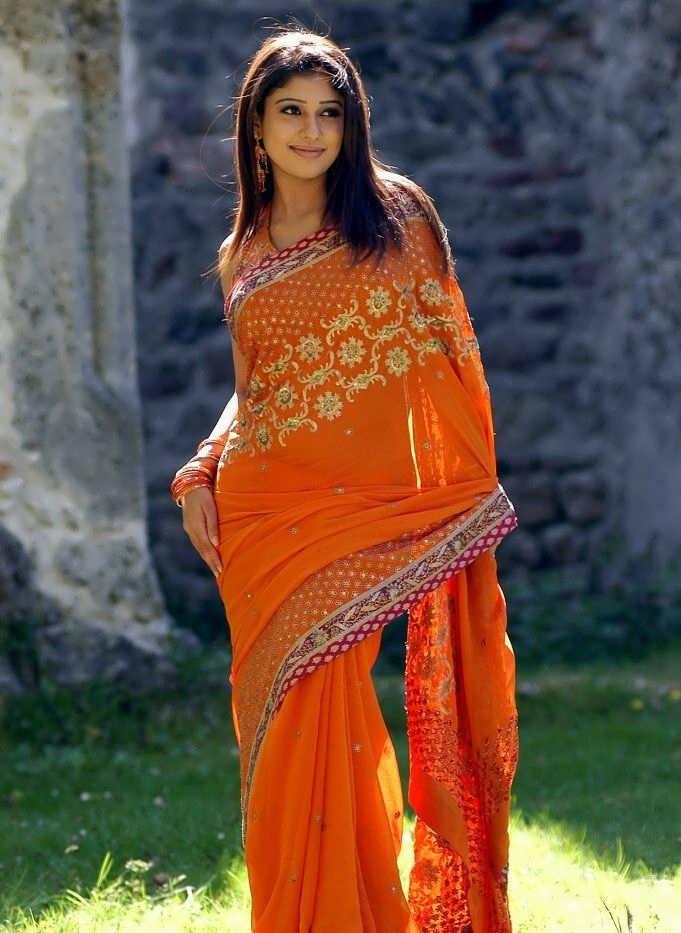 Actress Nayanatara Latest Sexy Stills in Saree   Actress ...