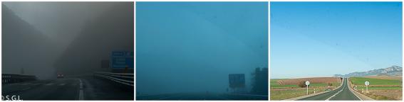 Niebla en el alta de Subijana