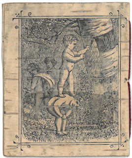 Back cover of 1880 Birch Bark Poems
