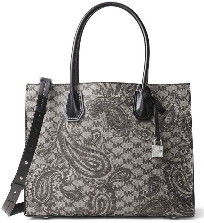 0a52c92e7a9180 Michael Kors Studio Mercer Large Heritage Paisley Satchel Retail Price:  USD348 Price: RM2000. Colour: Luggage, Black, Navy