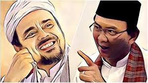 Ahok dan Rizieq Sama-sama Santun