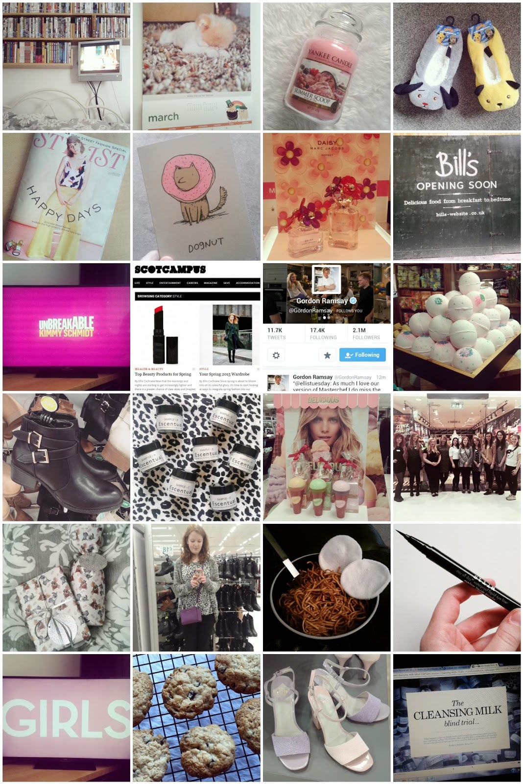Monthly Instagram 2015