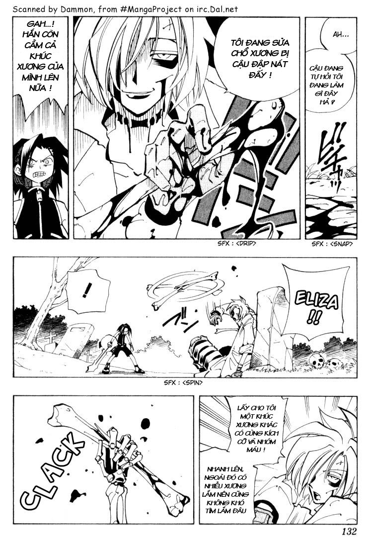 Shaman King [Vua pháp thuật] chap 42 trang 7
