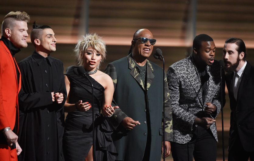 Tribute to Maurice White at the Grammys 2016