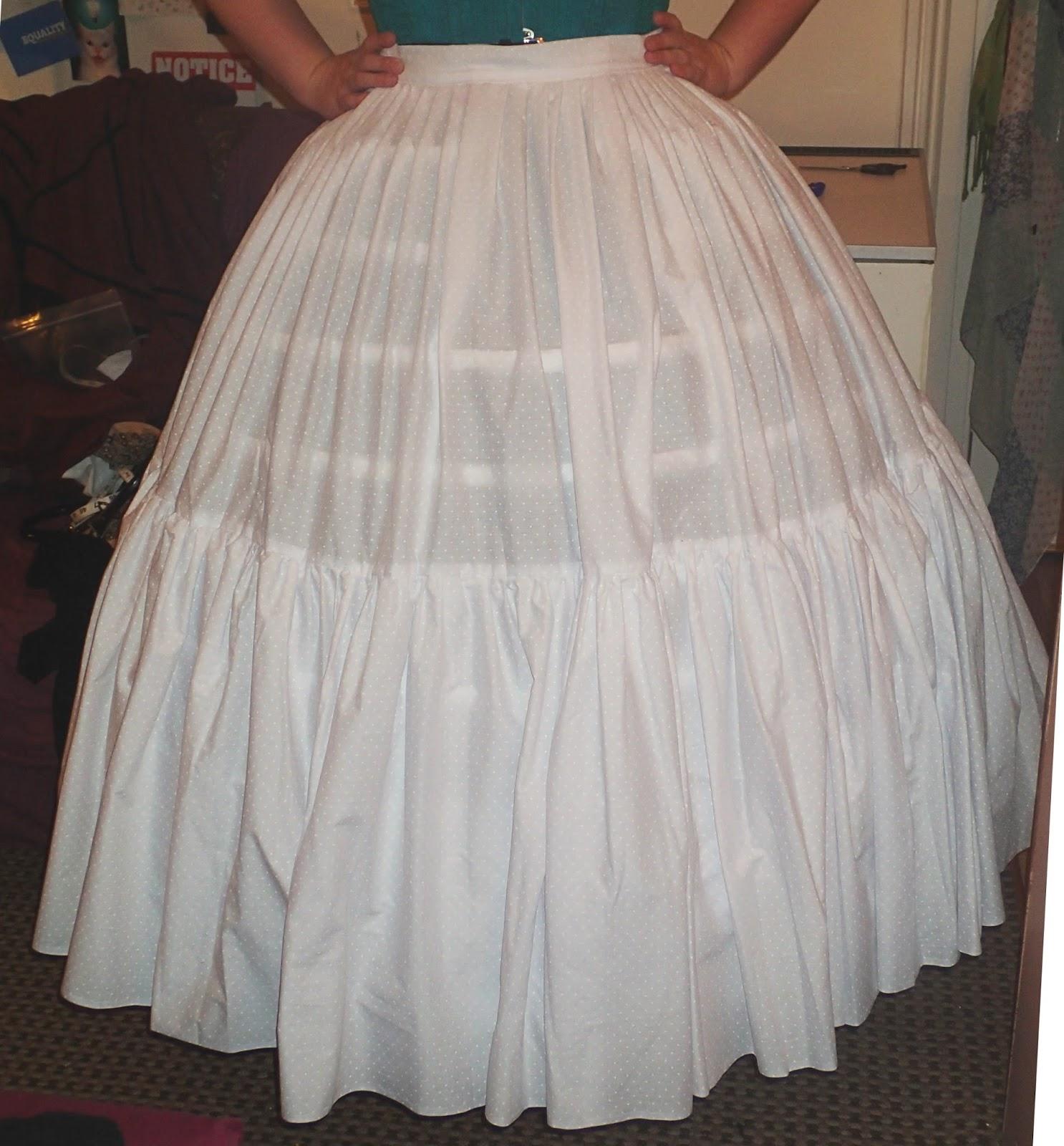 Hoop Skirt Pattern 84