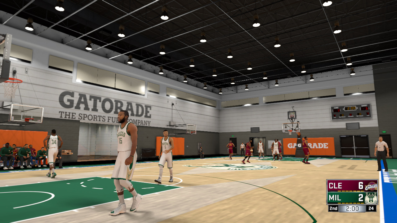 DNA Of Basketball   DNAOBB: NBA 2K17 3 Practice Gyms 1.0 by Andrew Rodriguez