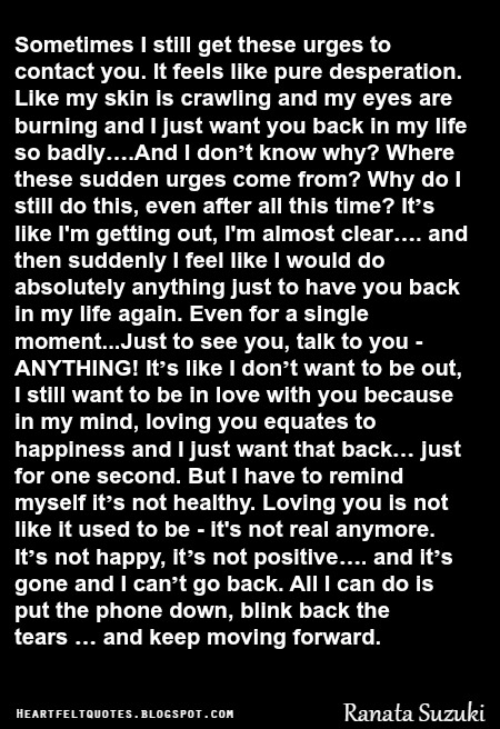 I need you back in my life quotes