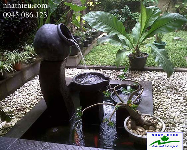 Thiết kế sân vườn châu á