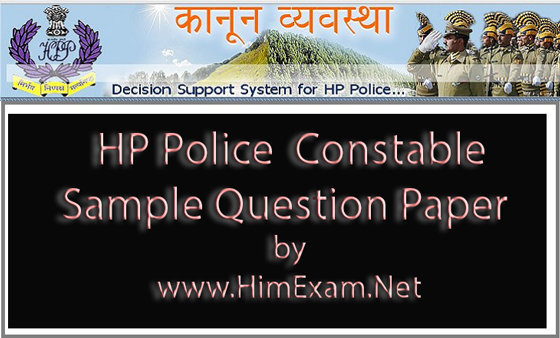 HP Police Constable Sample