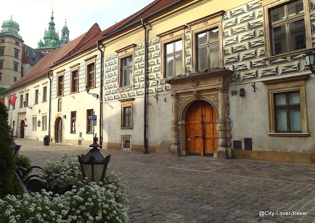 Gamla staden i Krakow