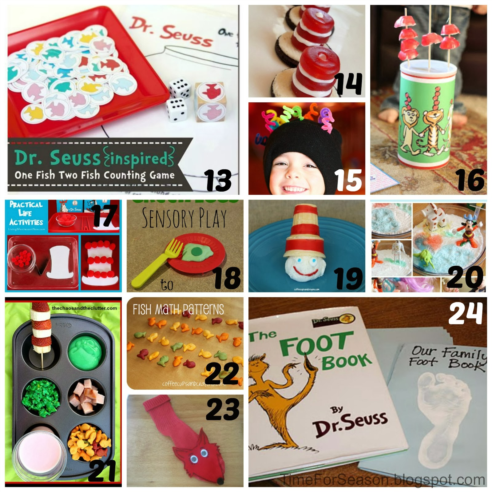 30 Dr Seuss Activities