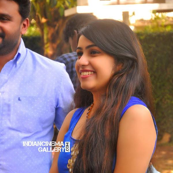 Manasa Radhakrishnan latest photos from Vikadakumaran Movie Launch