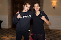 Sporty day for Emma Watson with Lina Khalifeh