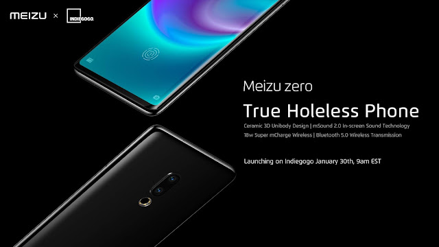 "Meizu Zero - ""World's first hole-less phone"", is available for Pre-order: Know here"