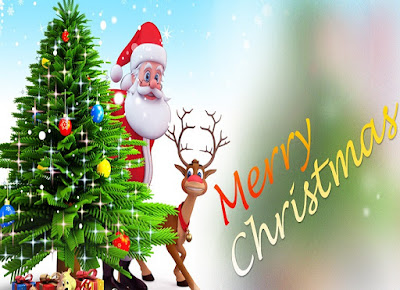 Merry Christmas 2017 New Year Wishes