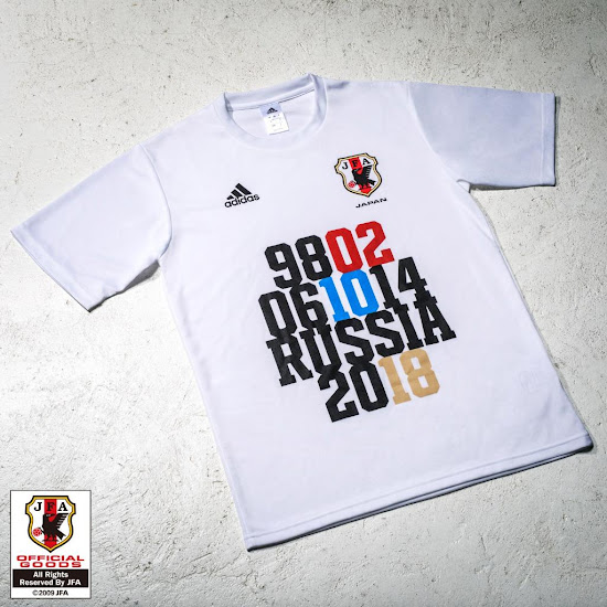 a939ea7b384 Are you happy that Japan will take part in the 2018 World Cup? What do you  think of the special shirt to celebrate the qualification? Drop us a line  below.