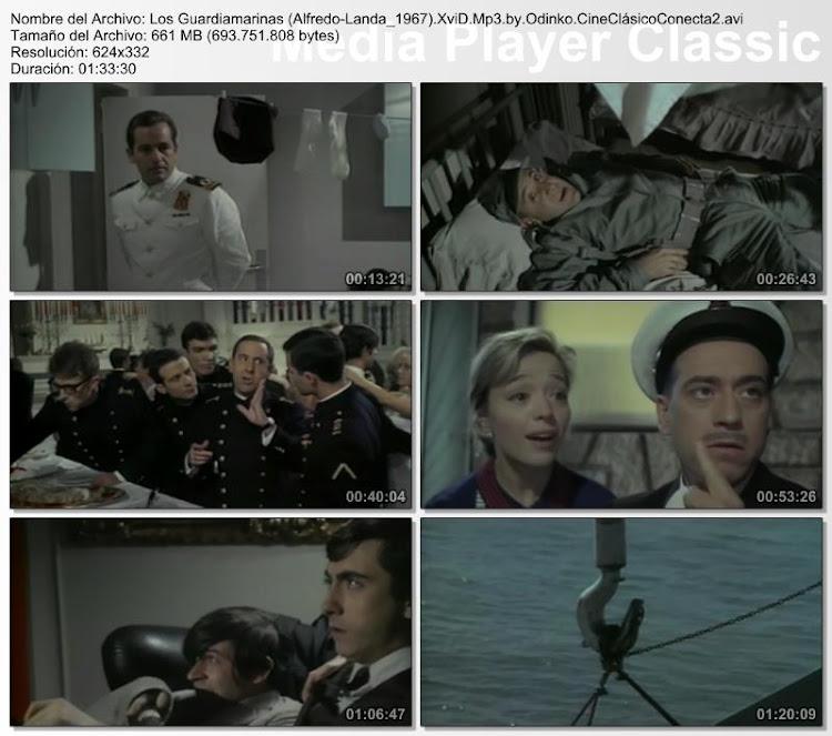 Los guardamarinas | 1967 | Capturas