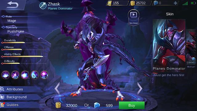 Zhask Mobile Legends