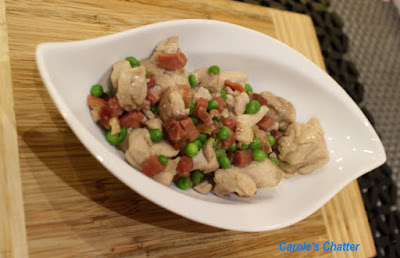 Carole's Chatter: Chicken with peas