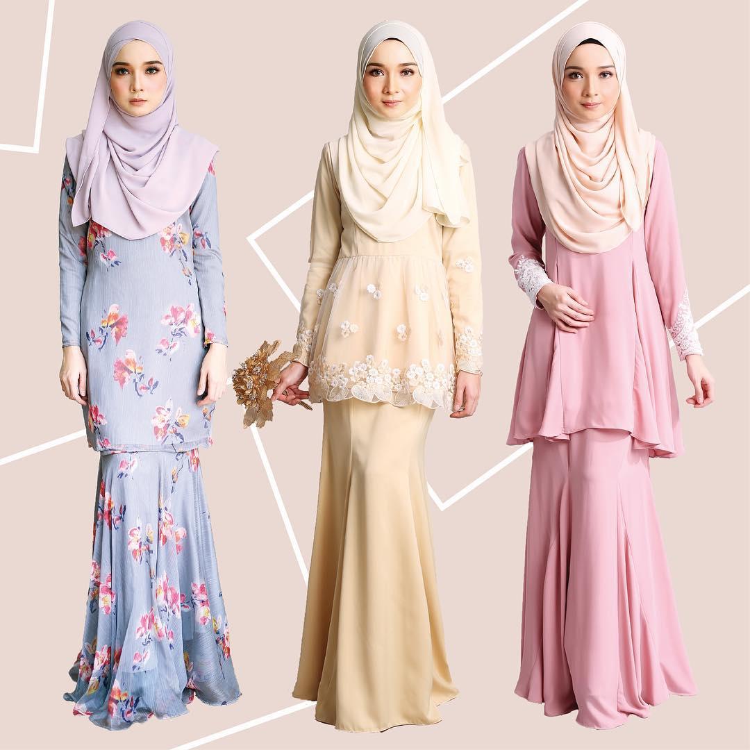 Fesyen Baju Raya 2017 Love Is Cinta