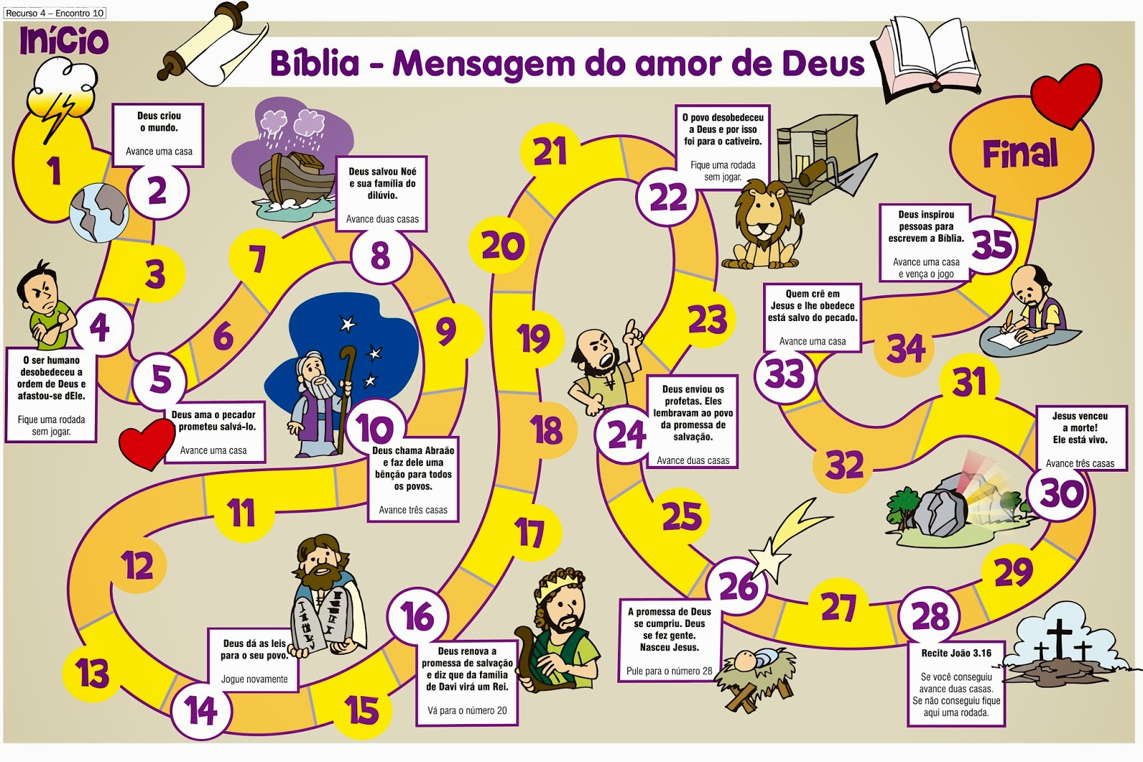 Crianca Com Jesus So Alegria Jogo Da Trilha Biblia