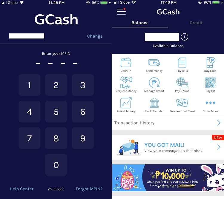 GCash Account